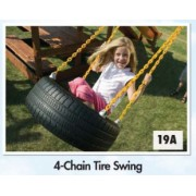 4 Chain Tyre Swing