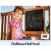 Chalkboard Rail Panel