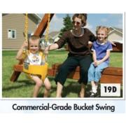 Commercial Grade Bucket Swing