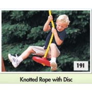 Knotted Rope with Disc
