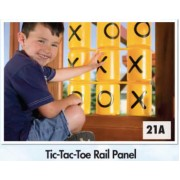 Tic Tac Toe Rail Panel